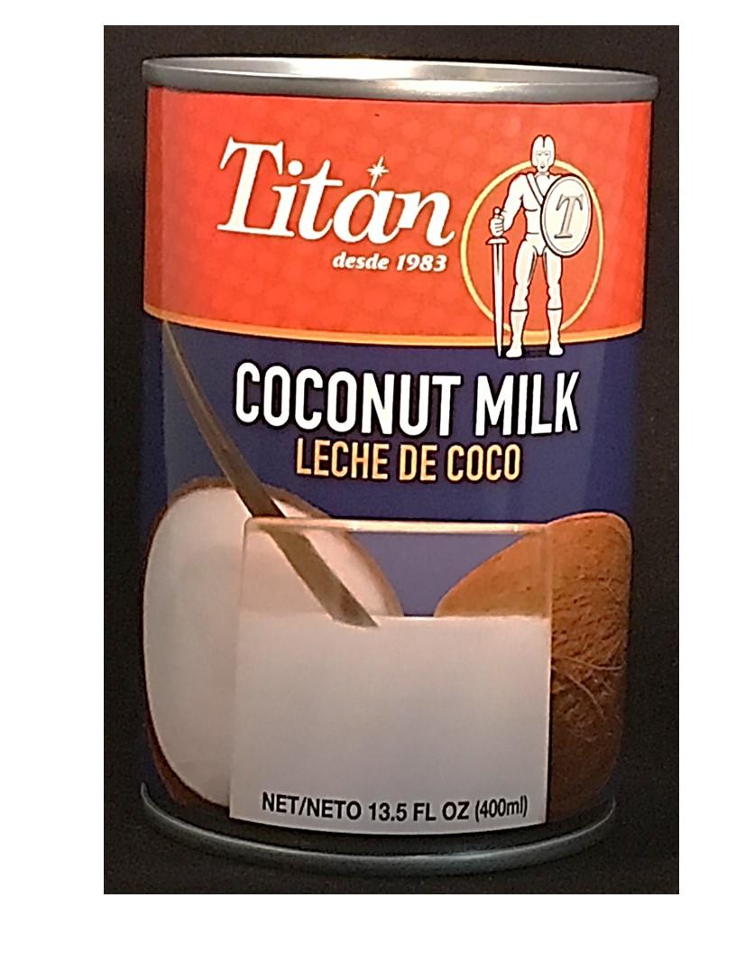 Leche de Coco Titán