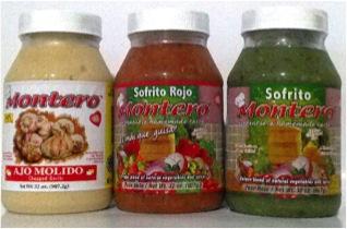 Sofrito y Ajo Montero