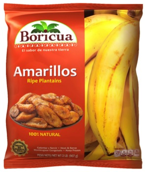 Boricua Ripe Platains 10-2#